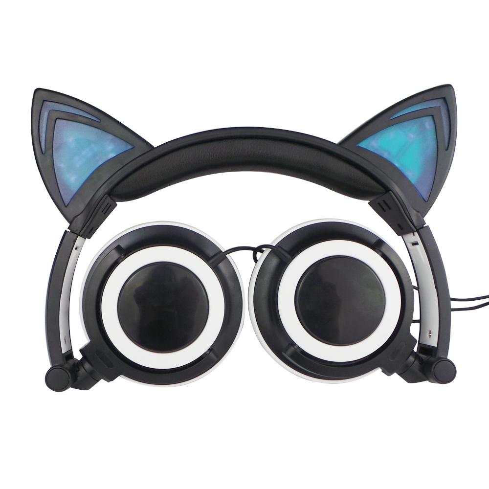 oreilles de chat bandeau led meilleur casque pas cher casque couteur id de produit. Black Bedroom Furniture Sets. Home Design Ideas