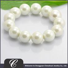 Factory Price Stretch Bracelet, Cheap Elastic Bracelet, Promotional Item Bracelet Charms With Pearl