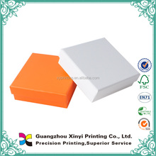 Simple design lid and tray type rigid wholesale printed plain paper box