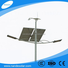 hot sale costomized wind&solar power street light with 2