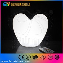 Party concert gift flashing remote controlled led light heart shape