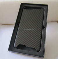 Real Glossy Dry Carbon Fiber Mobile Phone Case Cover Skin For phone 6 Apple