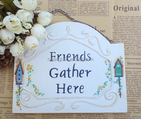 customized wood craft sign, wooden wall sign , small signs