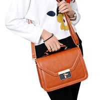 New fashion style pu Leather Women Day Clutch Handbag female Shoulder Bag ladies Messenger Bag
