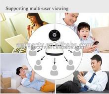 CCTV CMOS Camera, Supports MJPEG/H.264/1,280 x 720P Image Compression, Multi-user IP Camera