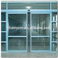 hd002 motor dual sensor automático de porta de vidro deslizante para o hospital e comercial