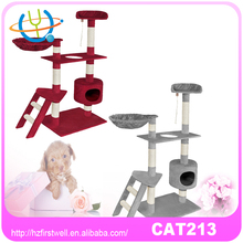 4 colors cat tower sleeping room