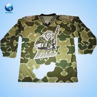 2015 nice top seller hockey jersey printing/sublimation ice hockey jersey/custom hockey jersey made in China