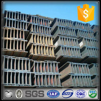 Narrow Flange H Iron Beam H Steel for Construction / h beam price