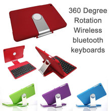 Swivel Rotary Stand Bluetooth Keyboard with Cover Case with for iPad