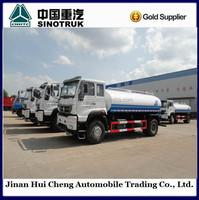 Cnhtc HOWO 10 Wheeler Water Tanker Trucks for Sale
