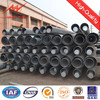 round tapered steel pipe supplier for overheadline project