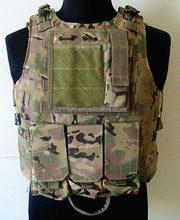 Military Black Airsoft Tactical Vest Tactical Combat Vest