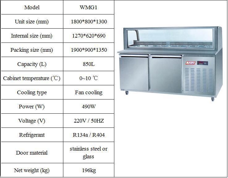 Refrigerator Under Counter 2 Door