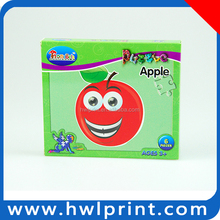 Colorful Paper pringting Factory Paper Yoy Promotion Puzzle