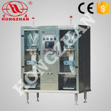 Hongzhan HP water milk beverage vinegar liquid automatic liquid milk packing machine