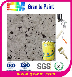 Waterbased emulsion weather resistant stone marble paint