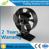 Newmeil Neat833/834 carbon brush motor silent eco wood burning stove fan