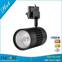 Ingenious 36W LED Track Spot Lighting Lamp with Rebost Aluminum for Swizerland