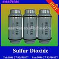 Dióxido de azufre líquido amoniocas: 7446-09-5