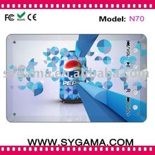 2011 Cheapest name/credit card MP3 player