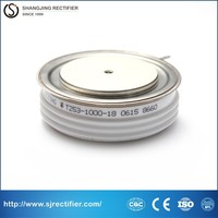 CE approval used for electrolysis disc thyristor, high current scr controller, Russian semiconductor thyristor scr T253-1000-18