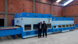 CE approved clear glass hardening and tempering furnace