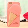 ice cream design 3d silicone mobile phone case for iphone 5 5s ,for iphone case silicone,for iphone 5 case silicone