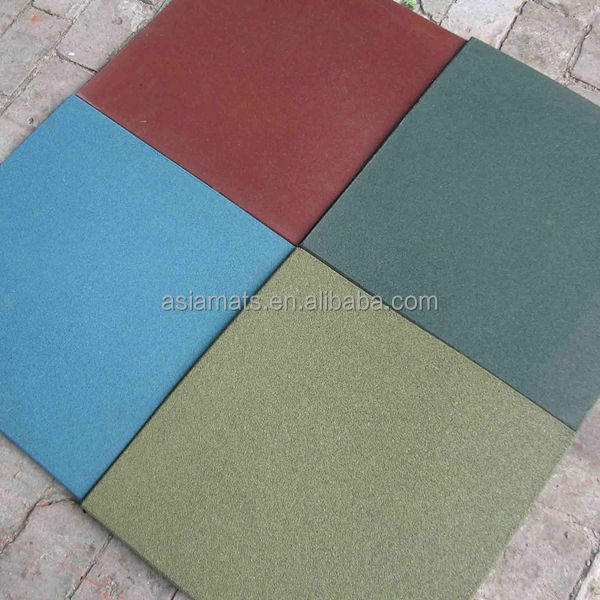 Decorative Rubber Flooring Safety Flooring For