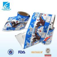 made in china plastic packaging printing aluminum foil wrap