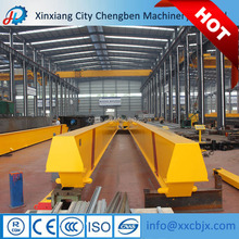 Light small 1 ton single girder overhead crane with low cost