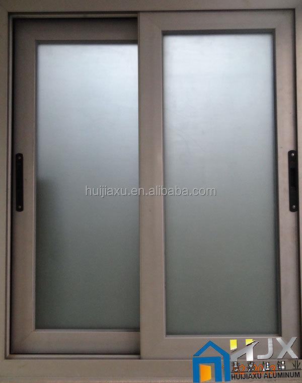 Beau Frosted Aluminum Sliding Window
