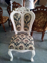 2012 High back durable wholesale cheap wooden dining chair