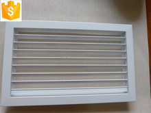 Beijing manufacturing Anodized Aluminium single deflection air vent grille/louver