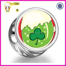 Fashion Stering 925 Silver Jewellery -Jewellery Pictures Of Fashion Green Shamrock