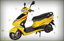 mini adult electric motorcycle 60V/800W/20Ah brushless motor Electric Motorcycle china EM21