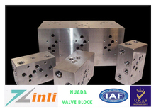 Professional Hydraulic Oil Control Valve Blocks For Casting Machines