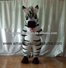 2014 caliente venta de zebra zebra disfraces disfraces mascottes