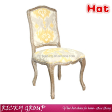 Hot Sale modern style natural wood classic dining chair/high back throne chair