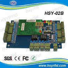 Factory Price TCP/IP wiegand 2 door access controller & 2 doors / 4 readers