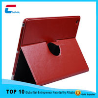 2015 high quality For iPad 360 Degree Rotating Swivel Case Stand Leather Cover Shell Case Protective Cases