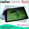 2014 best gsm quad core phone tablet, android tablet 1024*768HD screen 16gb rom 1gb ram