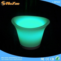 led light table decoration/Led color changing alcohol ice bucket L-D06