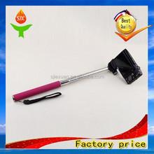 Shenzhen fashion best selling wireless bluetooth monopod carbon fiber selfie stick remote control JX-S018