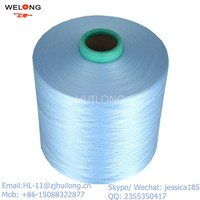 polyester dty yarn 150d blue color sell to pakistan