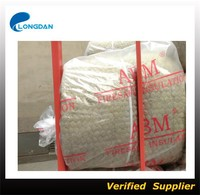 Galvanized wire mesh Rock wool insulation blanket for big pipe insulation