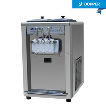 Donper Kiosk Twin Twist Frozen Yogurt Ice Cream Machine BT7280 pre-cooling 60Hz