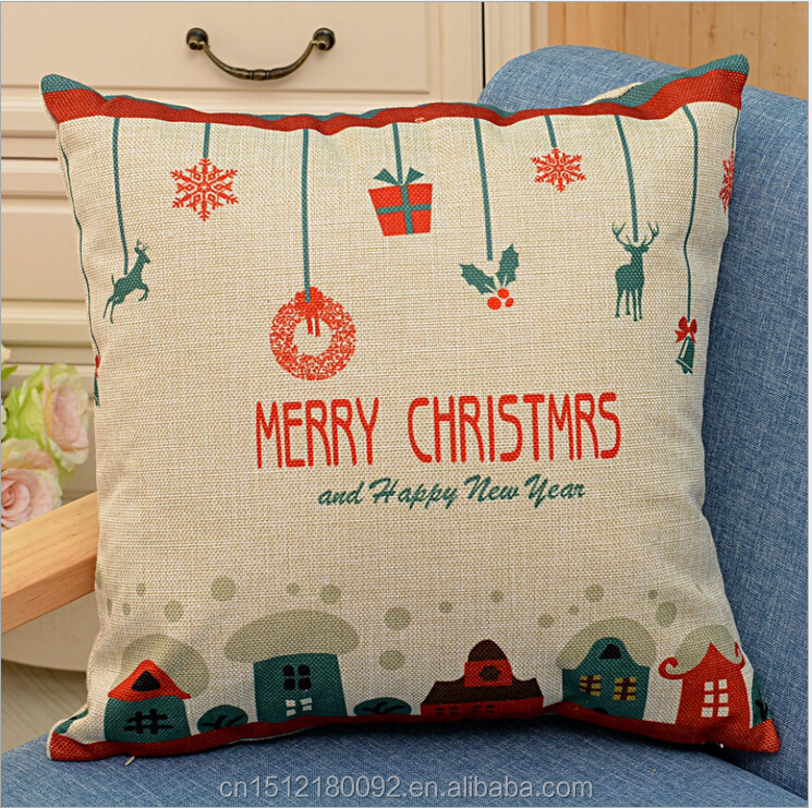 Custom Printed Throw Pillow Cases : Decorative Christmas Pillow Cases Custom Printed Cushion Cover - Buy Cushion Cover,Throw Pillow ...
