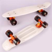 2015 New Design skateboard 22'' plastic cruiser skateboard style