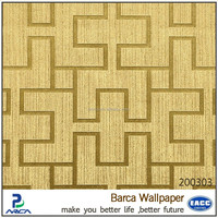 modern metallic decoration home 3d bamboo wallpaper